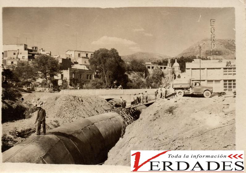 Entubado del Río Guanajuato