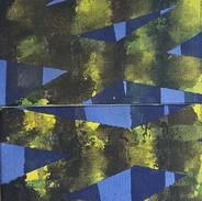 #art#abstractart#yellow#black#spring#ink