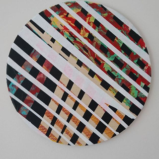 #art #acrylicpainting #round n round #ab