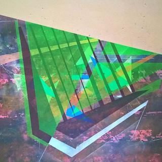 3 , 50cm x 73cm , acrylic & ink on mdf-p