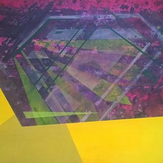 3 , 50cmx73cm, acrylic & ink ,2015 #abst