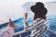 Woman on Boat Ride