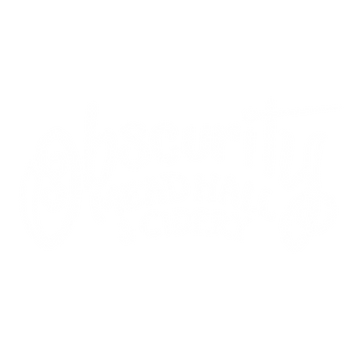 obscurity mead hall and cidery logo WHIT