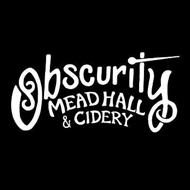 obscurity mead hall and cidery logo UPDA