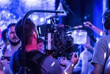 Just Me short film - on set
