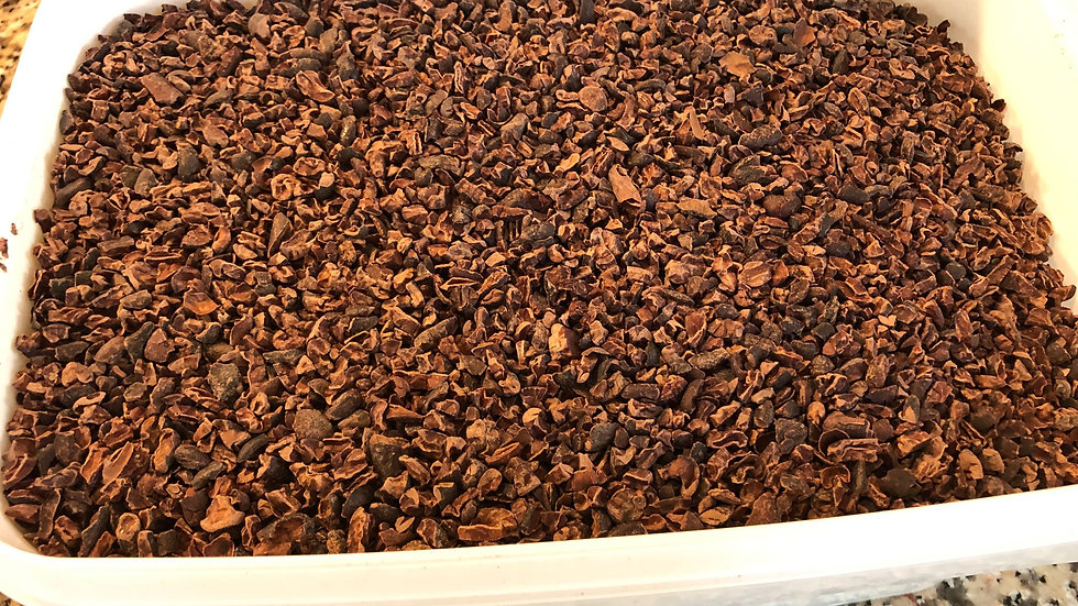 1 Pound of Organically Grown Cocoa Nibs