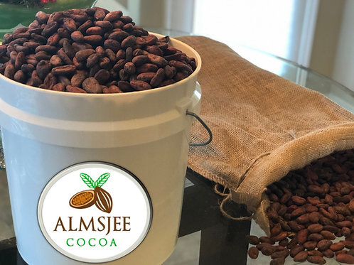 1 Pound Sample Raw Organic Criollo Cocoa Beans