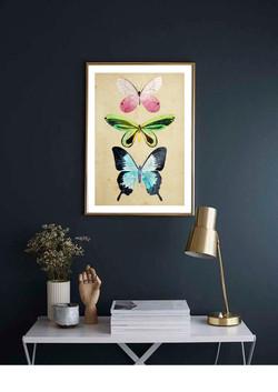 mariposas print