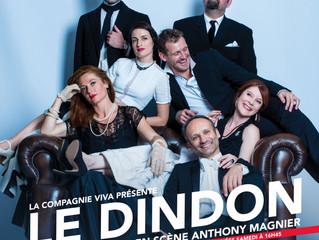 J-2 avant de pouvoir découvrir Le Dindon à Paris, au Théâtre Déjazet !