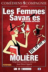 Affiche LES FEMMES SAVNTES (version roug