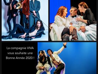 La Compagnie Viva vous souhaite une très bonne année 2020 !