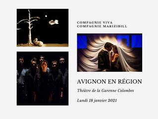Avignon en région - Trois spectacles sur une journée