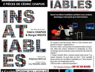Festival d'Avignon, Insatiables, création de Cédric Chapuis et Margot Mouth