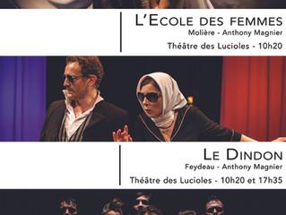 FESTIVAL D'AVIGNON - LA COMPAGNIE VIVA AU THEATRE DES LUCIOLES