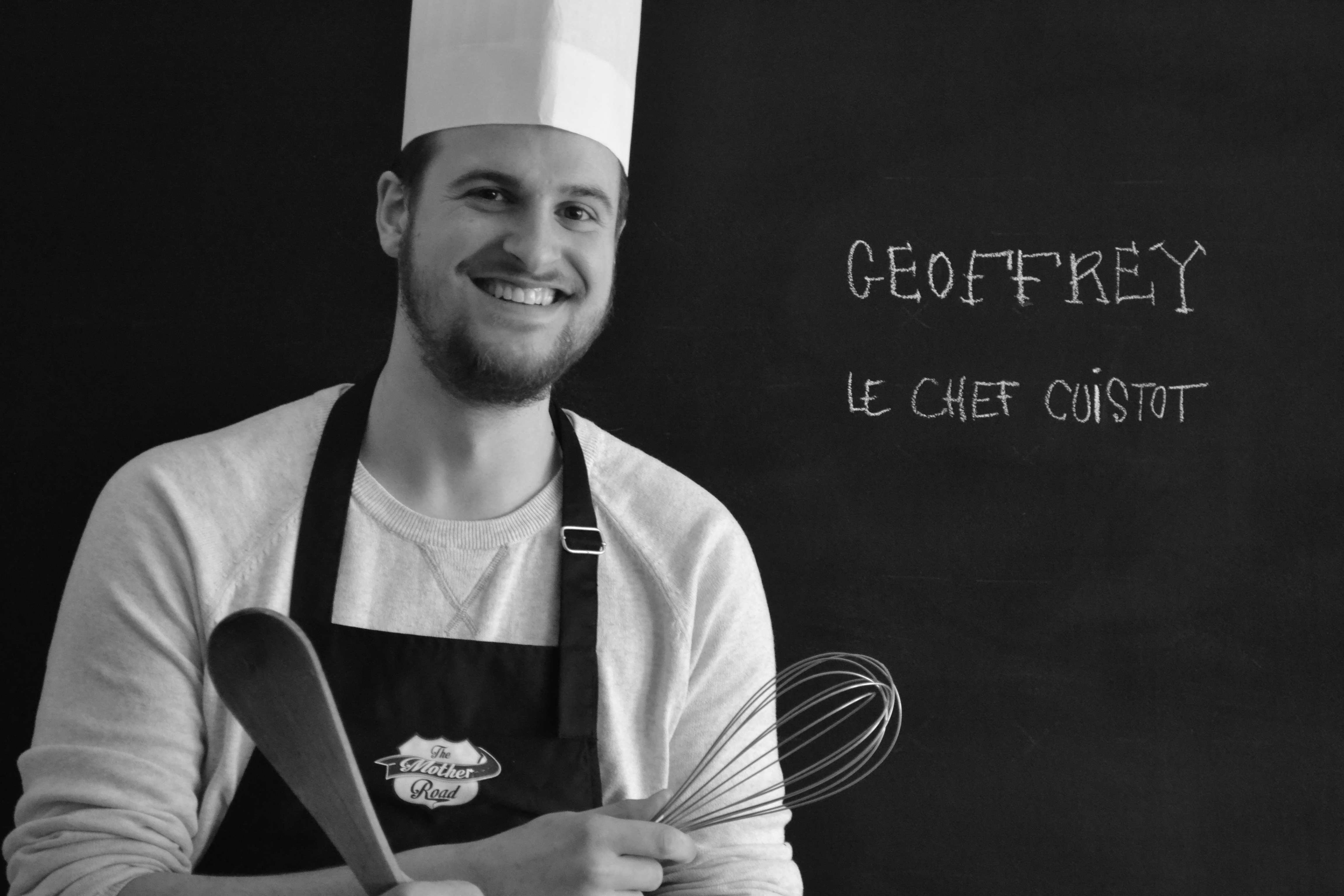 Geoffrey, le Chef Cuistot