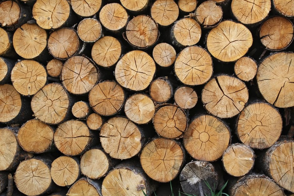 Logs for use in a biomass boiler