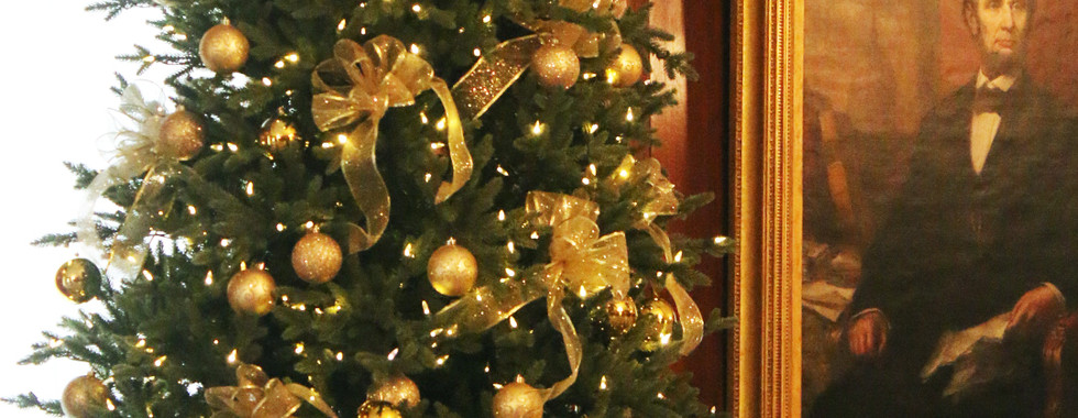 Golden tree in the Presidents Room