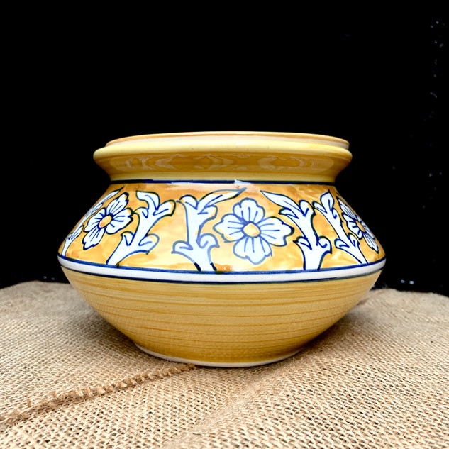 Ceramic Fiestaware with Matching Lid