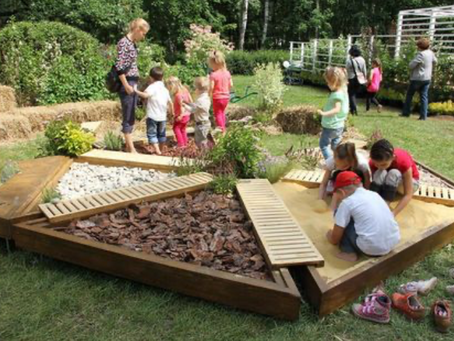 Multi-Sensory Playgrounds:Early Childhood Development Hubs