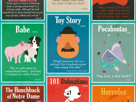 38 Opening Lines from Cherished Children's Movies