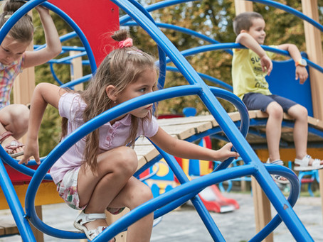 Building Motor Skills on the Playground