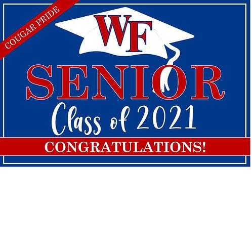 Senior Yard Sign