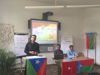 BNM held programs in Germany and S. Korea on Balochistan Independence Day