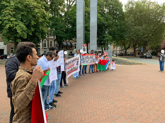 Enforced Disappearance Day: BNM Protests in Britain, Netherlands and Germany