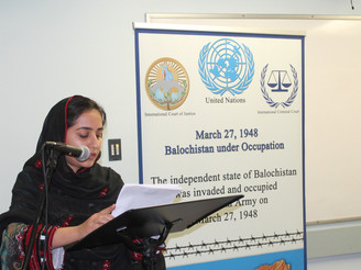 Banuk Karima Baloch speaks on the eve of March 27 Black Day