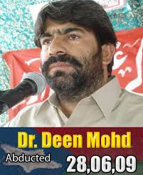Disappearance of Dr Deen Mohd for a long time is an inhuman act. BNM