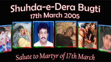 BNM pays homage to the martyrs of Dera Bugti