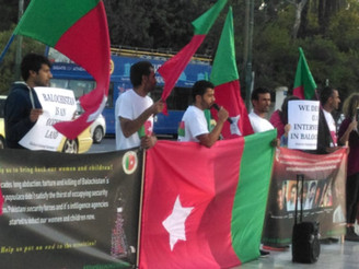 Greece: BNM protests in Athens against Pakistani atrocities in Balochistan