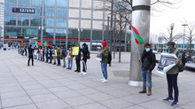 The BNM Germany protests in solidarity with the families of the missing persons of Balochistan: