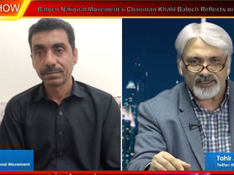 We accept Free Balochistan as a graveyard but not the slavery. Khalil Baloch to TAG TV