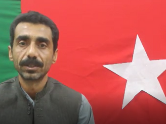 Khalil Baloch condemns the firing by Army and Death Squad on Atif Baloch's funeral