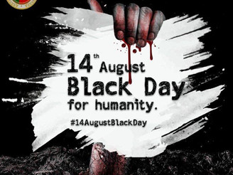 14 August is a black day for the whole world. BNM