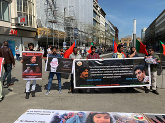 Germany: BNM campaign highlight the serious human rights issue of Balochistan
