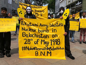 BNM protests abroad, holds awareness campaigns in Balochistan on 28th May