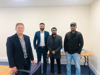 Members of London zone met UK Cabinet member Grant Shapps to inform him about the genocide of Baloch