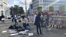 Demonstrations were held in Germany, South Korea and the Netherlands against Pakistani atrocities.