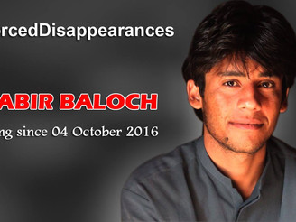 #SaveShabirBaloch: Protests in Europe and Australia