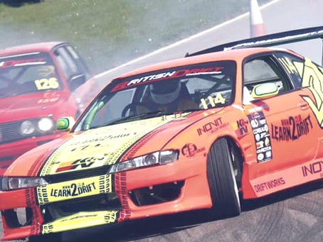INOVIT sponsors the UK's L2D drift team