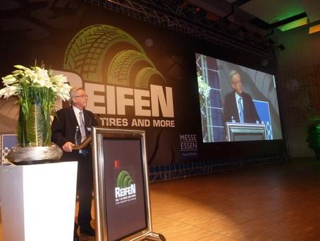 Reifen Trade show in Essen, Germany 2014