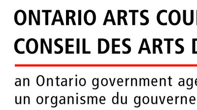 Proud Recipient of the Art Council of Ontario's Exhibition Bursary