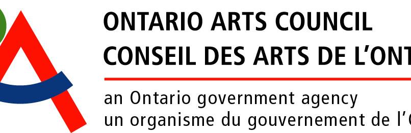 Proud Recipient of the Art Council of Ontario's Exhibition Bursary