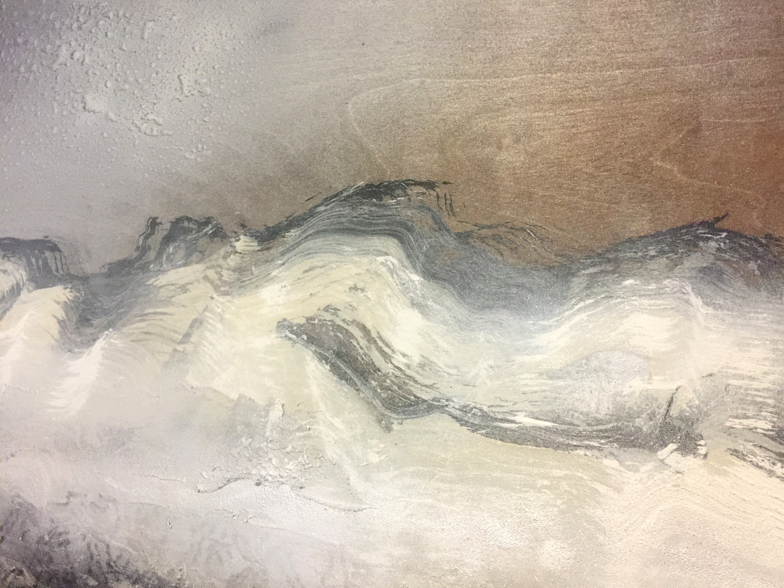 Wooded Mountains (Close Up)