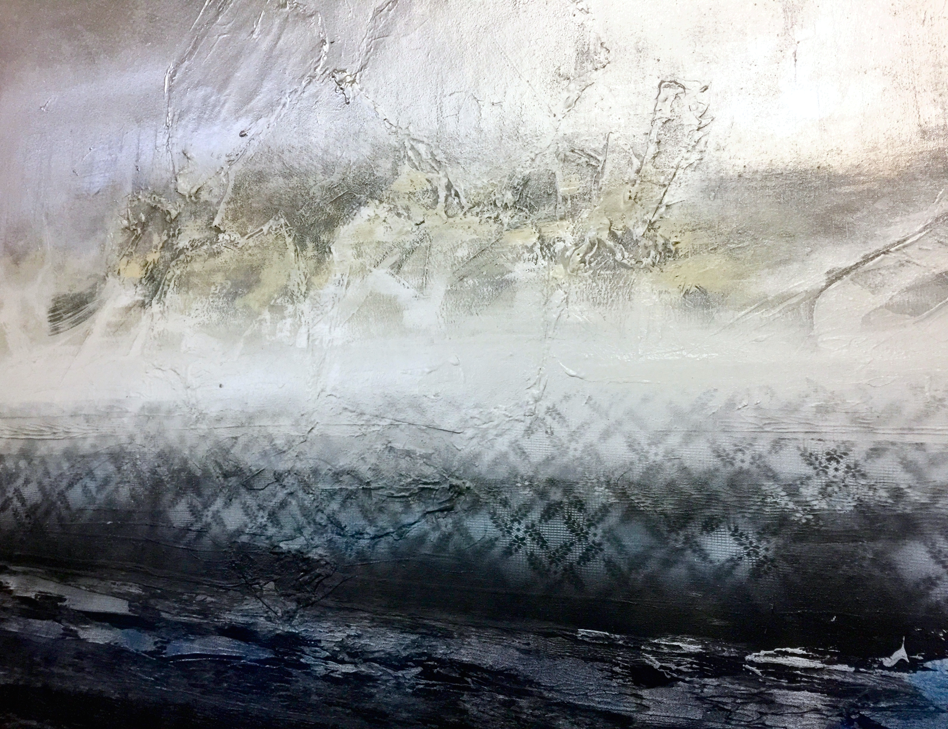 Lacy Sea (Close Up)