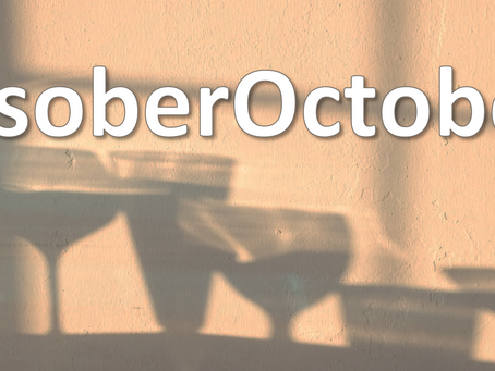 ....sober October is coming to an end....