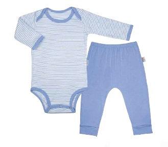 Conjunto 14001 body e calça. Tam 9 a 12 meses