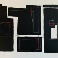 """BLACK STONES"" | WV Nr. 268 | Acryl auf Leinwand | 120 x 80 cm | 2019"